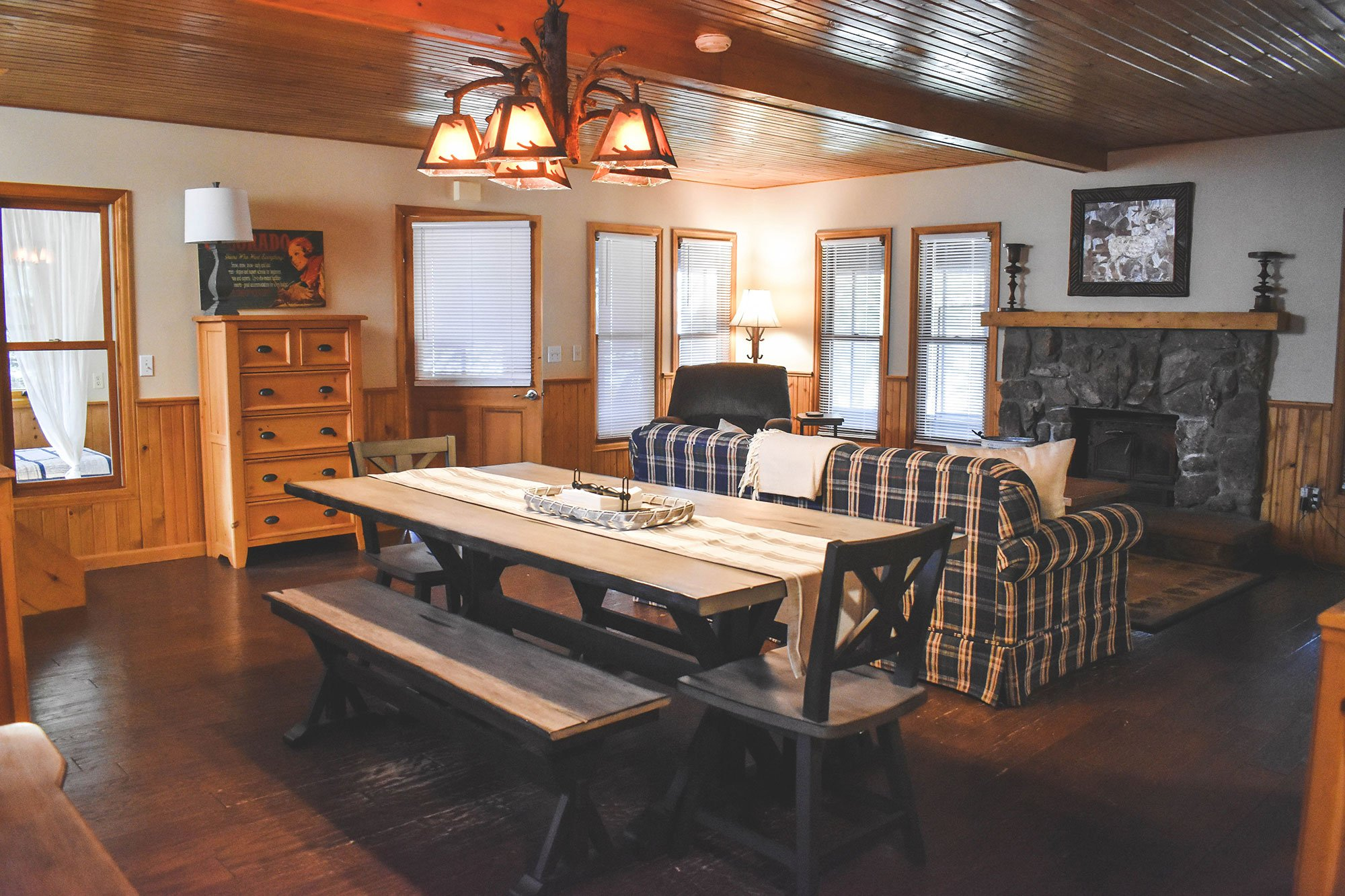 Harbor Spruce Cabin